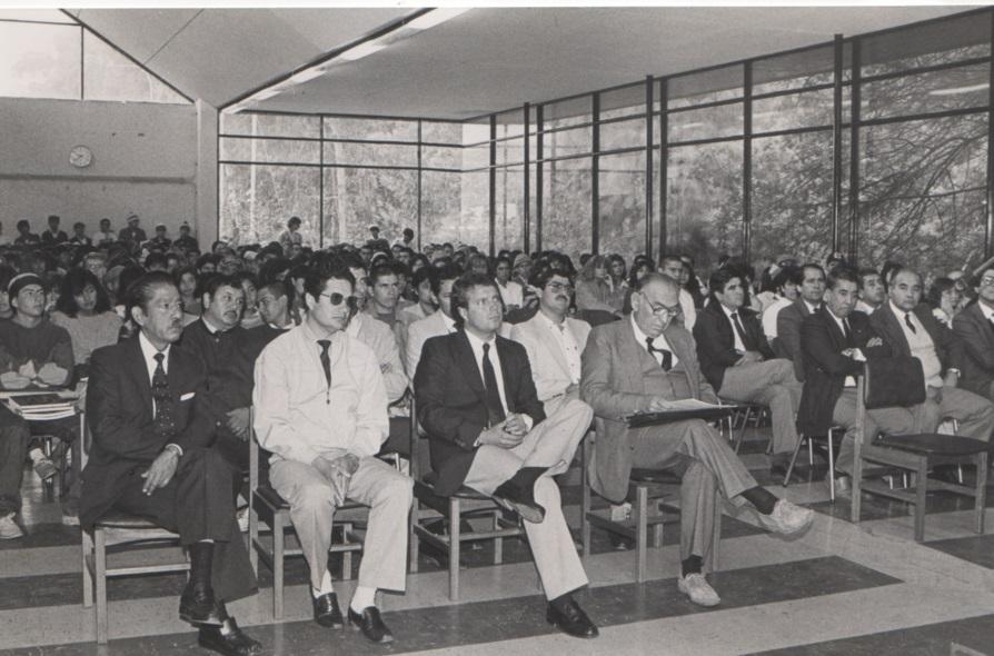 ceremonia inaguracion año academico 87